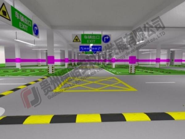 贵州停车库设计