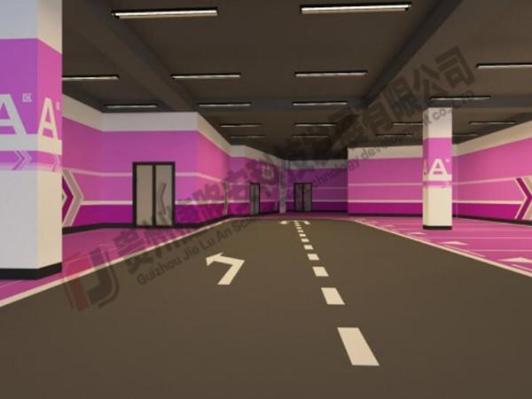 贵州小区停车场设计