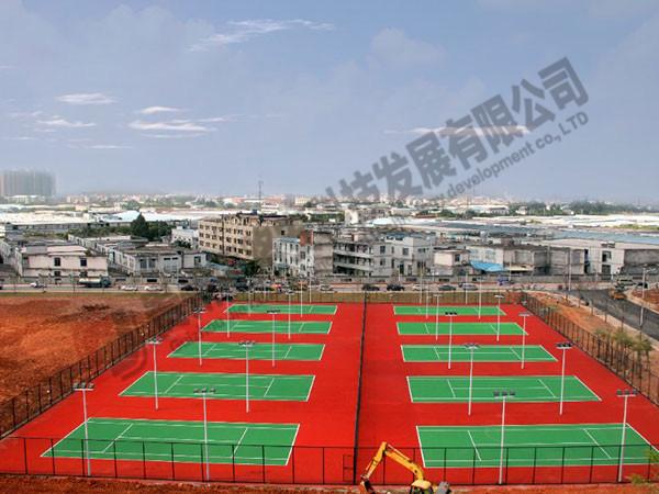 貴州籃球場建設
