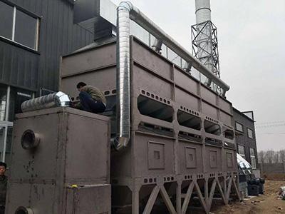 蓄热式热力燃烧(RTO)设备生产