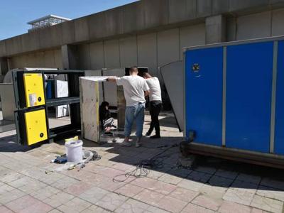 油烟净化设备施工