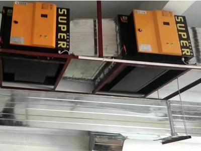 酒店油烟净化器安装