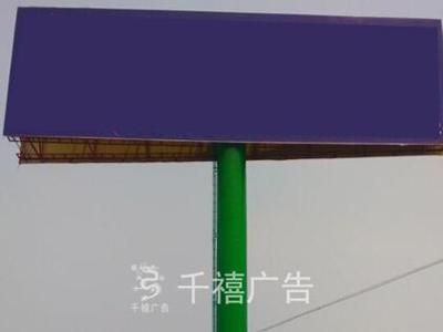 河北保定单立柱制作