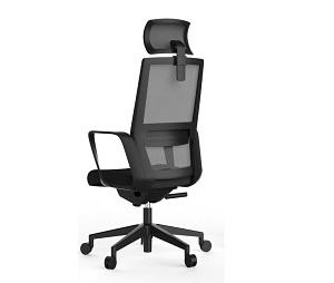 总裁椅班台椅职员椅黑椅-BH256CH