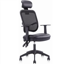 总裁椅班台椅员工椅会议椅黑色-BH026CH