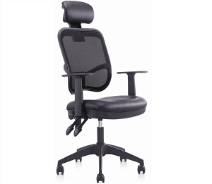 總裁椅班臺椅員工椅會議椅黑色