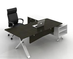 X鋼腳總裁辦公臺經理辦公桌