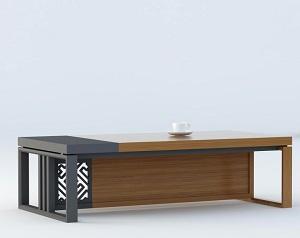 新中式会议桌茶水桌-BH072YF