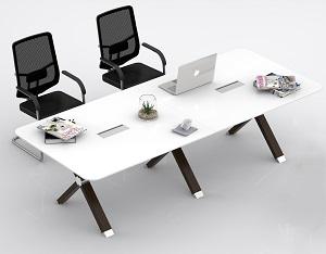 橡木X会议台会议桌-BH021JKM