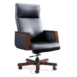 经理真皮椅-BH718DC