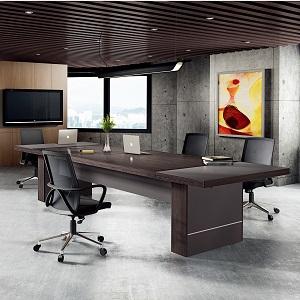 鸡翅木皮会议桌-BH029YST