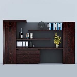 实木文件柜-BH235AX