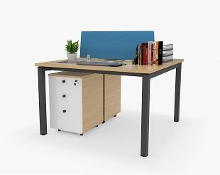 办公桌卡位屏风对坐-BH001BJH