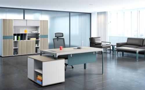 时尚大气经理桌卡菲系列-BH866LF