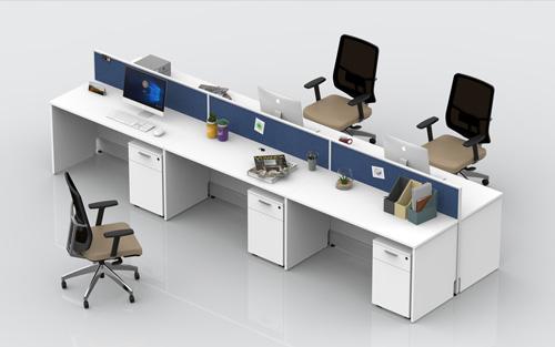 多人定制办公桌椅-BHPS006