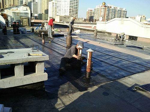 屋顶防水维修