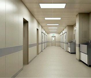 醫院用木飾麵金屬複合牆板
