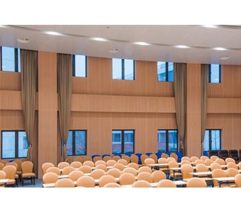 會議用木紋金屬複合牆板
