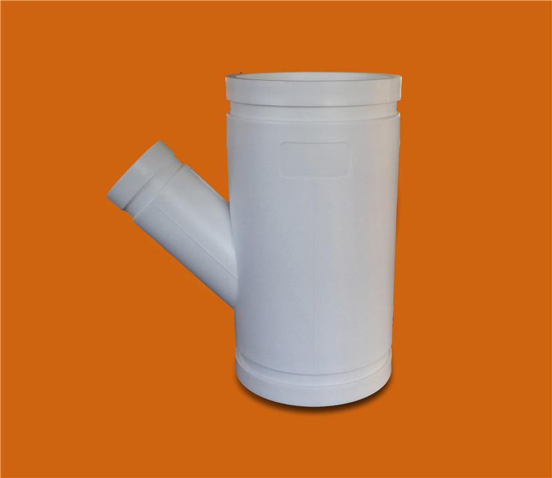 HDPE溝槽式排水管廠