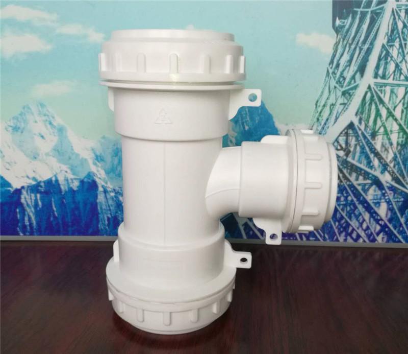 四川HDPE螺口承插連接靜音排水管廠