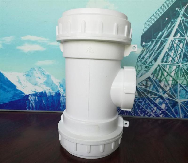成都螺口承插連接靜音排水管