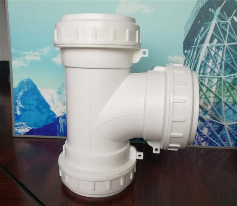 成都HDPE螺口承插連接靜音排水管廠
