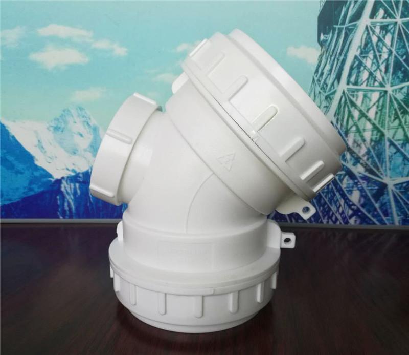成都新興HDPE螺口承插連接靜音排水管批發