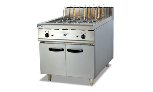 立式电煮面炉连柜座