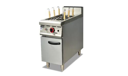 立式燃气煮面机连柜座