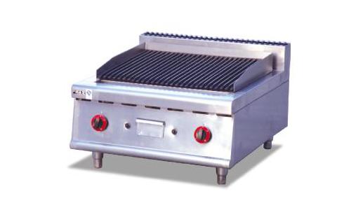 台式燃气火山石烧烤炉