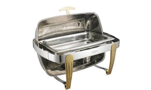 新疆全翻盖方型单格自助餐炉