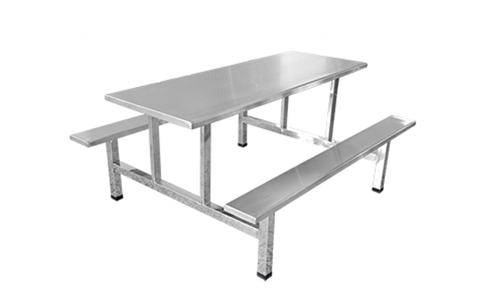 六人长条凳餐桌