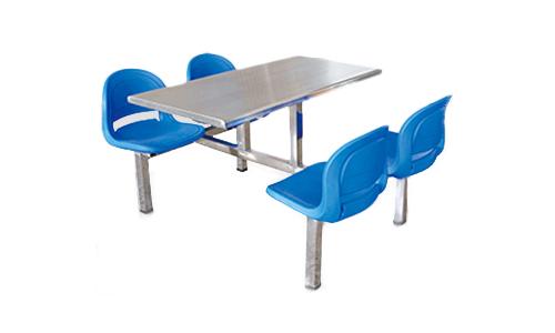 四人不锈钢面餐桌
