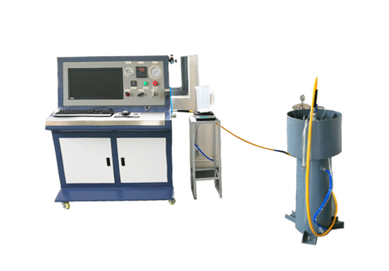 钢制无缝气瓶外测法水压试验机