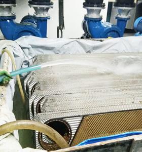 板式换热器除垢