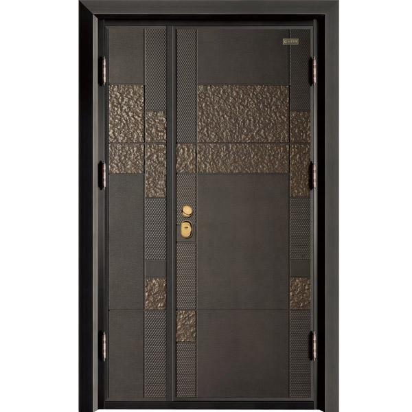现代铸铝门