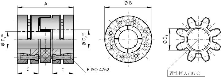 彈性聯軸器