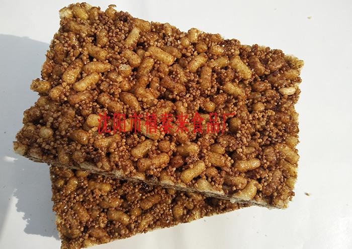 紅糖小米條