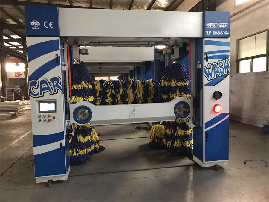 自动龙门式洗车机