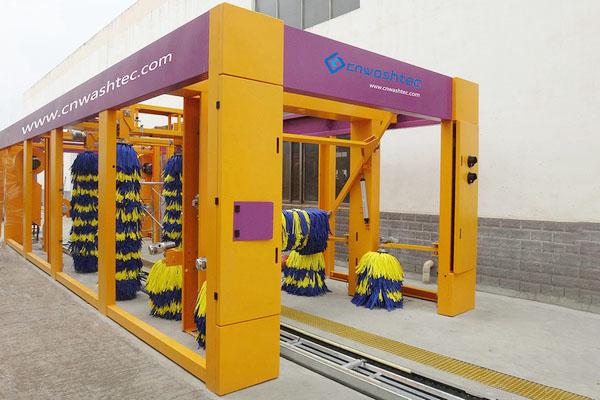自动化隧道洗车机