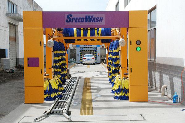 隧道洗车机设备