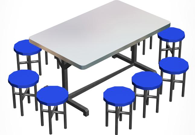 成都快餐桌