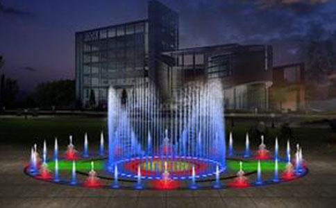 小型程控喷泉