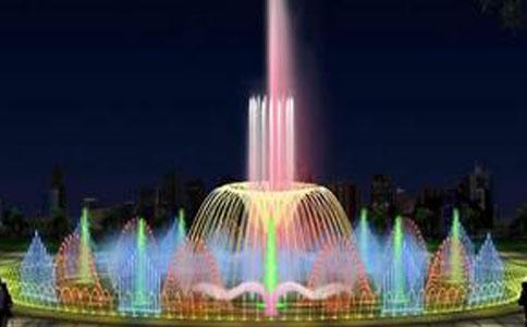 音乐程控喷泉