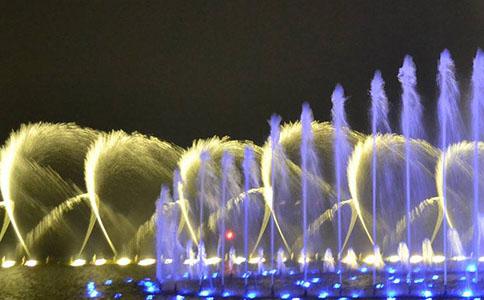 专业湖面喷泉
