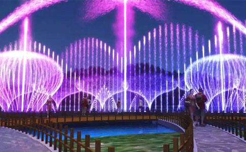 大型程控喷泉