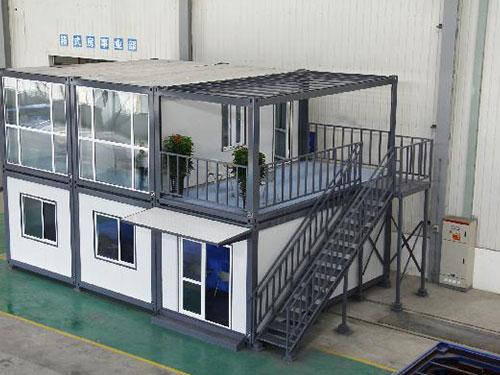 2层箱房别墅型