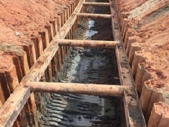 钢板桩围堰