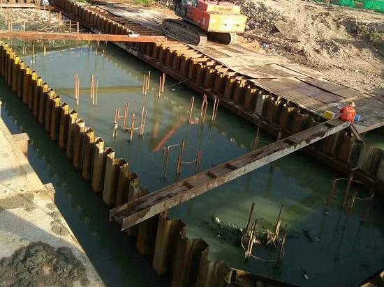 郑州钢板桩施工