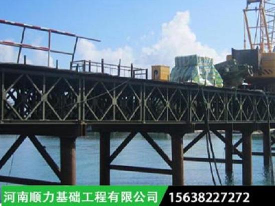 钢栈桥施工